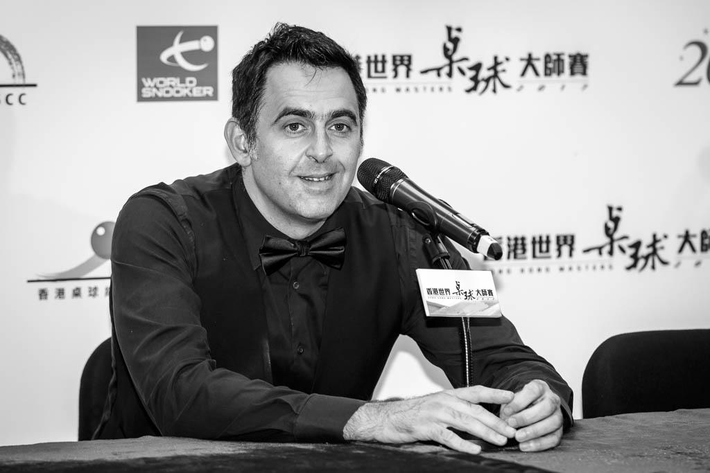Ronnie O'Sullivan. HK Masters 2017
