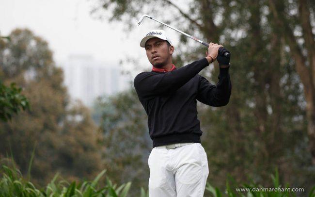 Hong Kong amateur Leon D'Souza