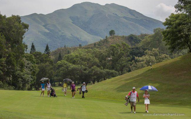 Hong Kong golf club, Fanling.